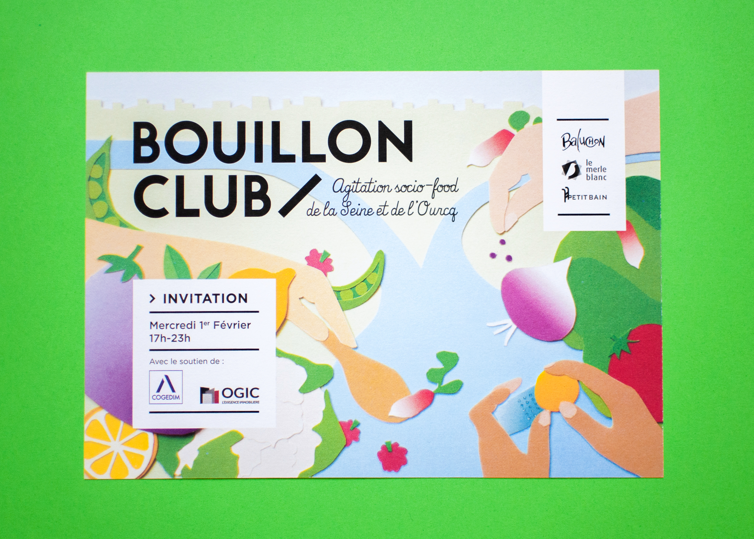Invitation Bouillon Club